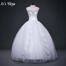 Новинка свадебное белое платье на свадьбу, платье принцессы Свадебное Дешевое платье Романтический на шнуровке невесты Vestidos De Novia Y617