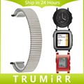 Elástica Faixa de Relógio 20mm 22mm para Pebble 1 1st Gen/Seixo tempo Rodada 20mm/Pebble Aço Inoxidável Tempo de Ligação Cinta Cinto pulseira
