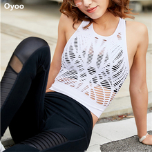 Oyoo racerback vixen fitted crop tank top sleeveless yoga clothes red sport fitness top white workout train vest running shirt