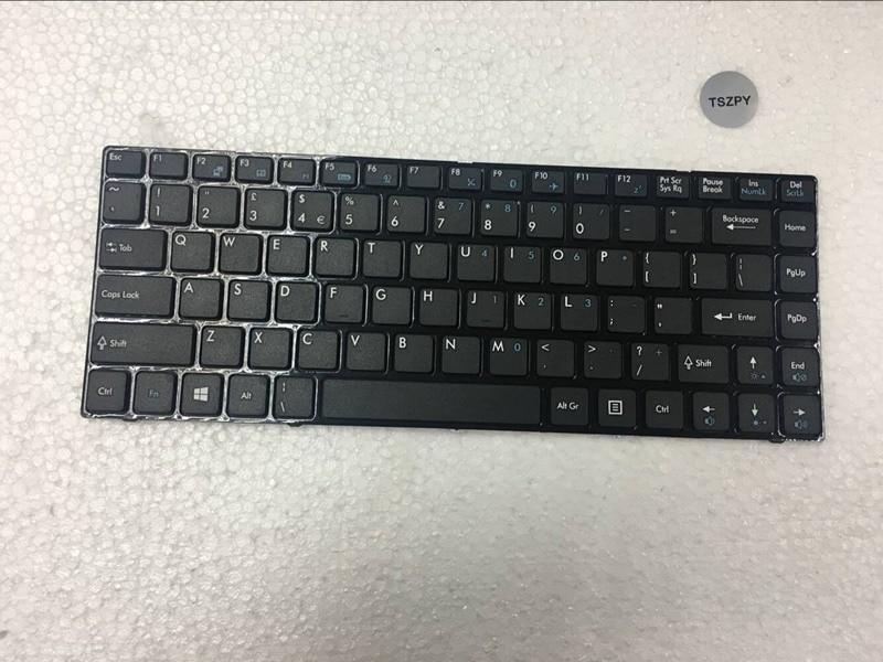 New US Keyboard For MSI CR400 CR420 CR460 EX465 CX420 X350 X370 Laptop Keyboard