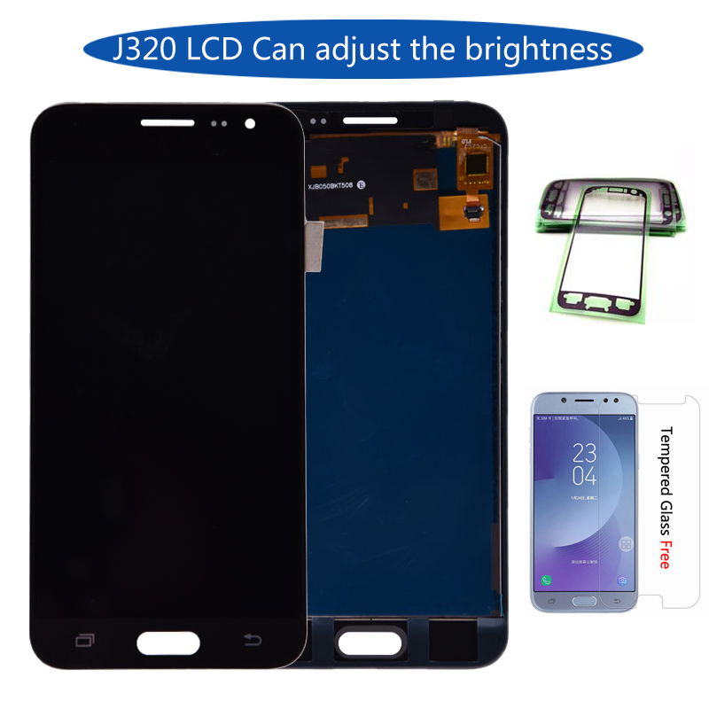 J320 lcd For Samsung Galaxy J3 2016 J320 J320A J320F J320M LCD Display Touch Screen Digitizer Assembly Can be Adjust BrightnessJ320 lcd For Samsung Galaxy J3 2016 J320 J320A J320F J320M LCD Display Touch Screen Digitizer Assembly Can be Adjust Brightness