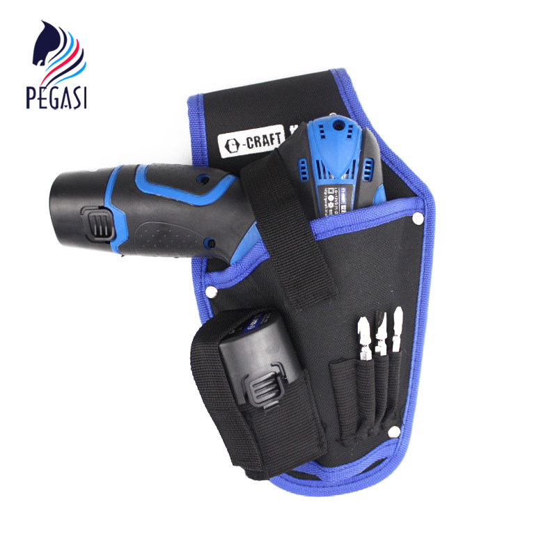 PEGASI High Quality Tool Bag Portable Cordless Drill Holder Holst Tool Pouch For Drill Waist