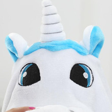Animal Kigurumi Onesie Adult Men Women Unicorn Sleepwear Pajama Soft Fancy Anime Unicornio Pijima Overall Nightwear Onepiece