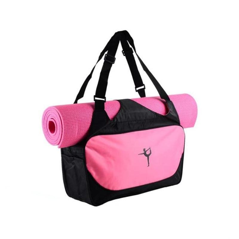 Hot Yoga Bag Multifunctional Clothes Gym Bag Women's Waterproof Sports Bag Shoulder Yoga Mat Bags Large Capacity Handbag