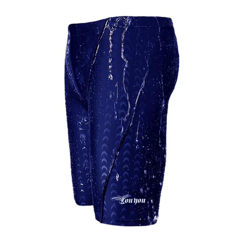 2017 Hot Sale Style Men's Trunks Shark Skin Waterproof Blue Black Classic Comfortable Swimwear  Quick-drying Underwear new