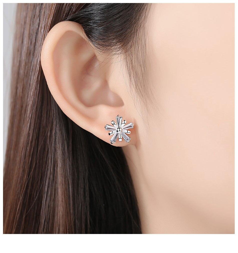 Et Des Flèches AAA Zirconia Cubique Boucles D/'oreilles Boucle D/'oreilles