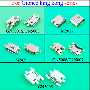 YuXi Micro USB Connector Charging Port USB Jack Socket For Gionee king kong GN5001S/GN5003 /M2017/W909/GN5006/GN5007/GN5005 image