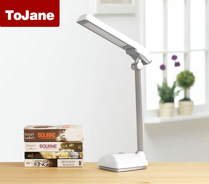 tojane tg159ts dimmable led desk lamp eye protection 3 level brightness LED Desk Lamp Table Lamp ToJane TG906 8Watt with 5 Level Brightness Control Eye-care Dimmer Table Lamp