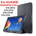 Case For Huawei MediaPad Link PU Protective Smart cover Protector Leather Tablet For HUAWEI S10-201U S10-231u/w S8-233L Case FHD