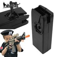 WoSporT M4 Airsoft Paintball Hand Crank Speed Loader WarGame Military Zubehor Loader Jagd Gun Magazin Black