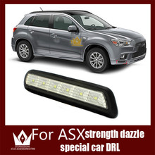 Guang Dian Coche de luz led drl luz de Circulación Diurna Luz Especial fit for 2011-2012 ASX LED DRL