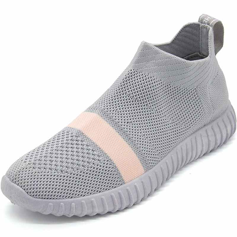 552a085c62 Hundunsnake Breathable Running Shoes For Women Sock Sneakers Women Sports  Shoes Lady High Top Women Trainers Black Tennis B-046