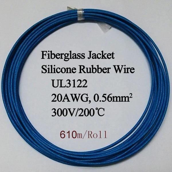 Agr Cable de Alambre de goma de silicona flexible cable trenzado de alta Tempe 1mm²-25mm² todos los