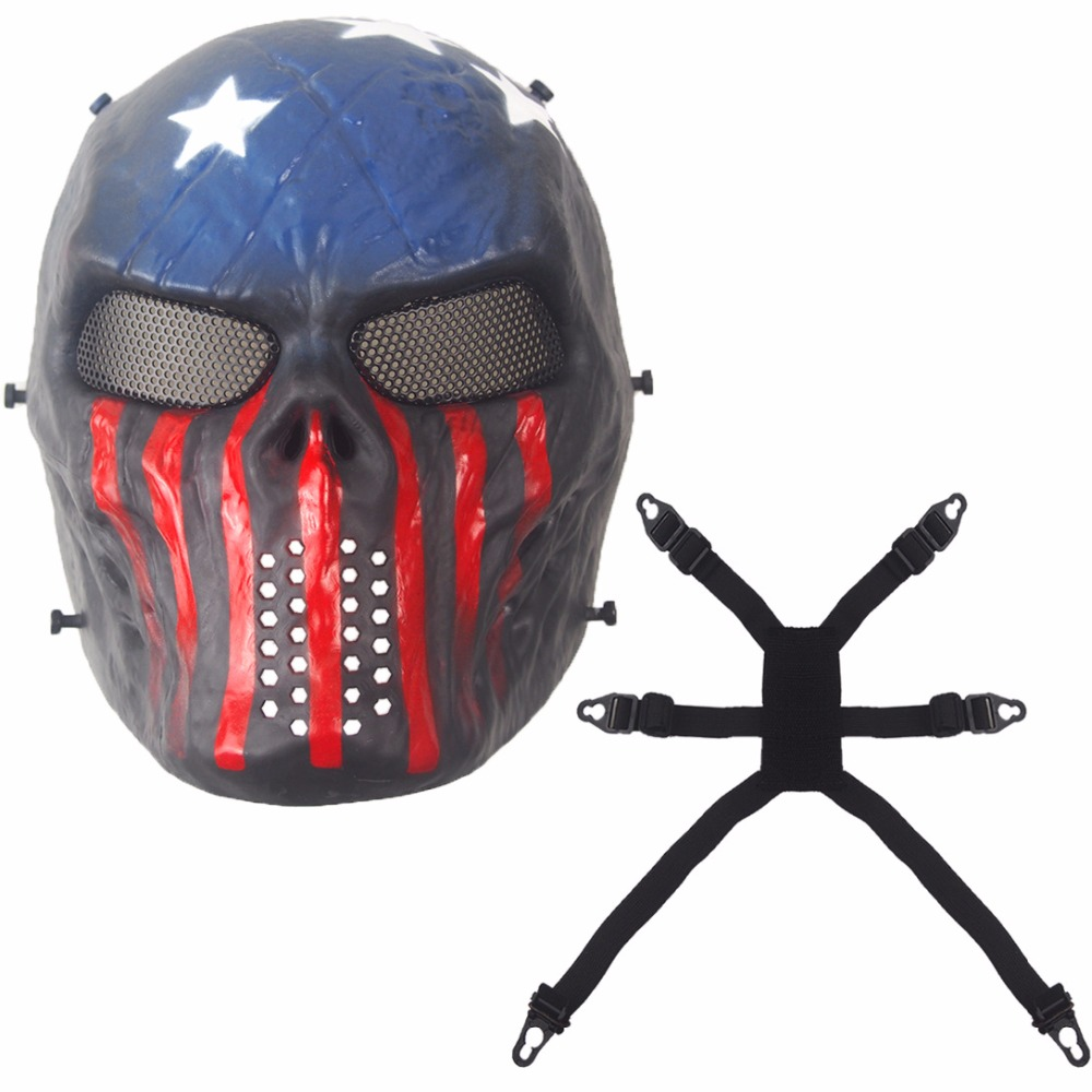 Aliexpress.com : Buy New Captain Camouflage Tactical Masks Outdoor ...