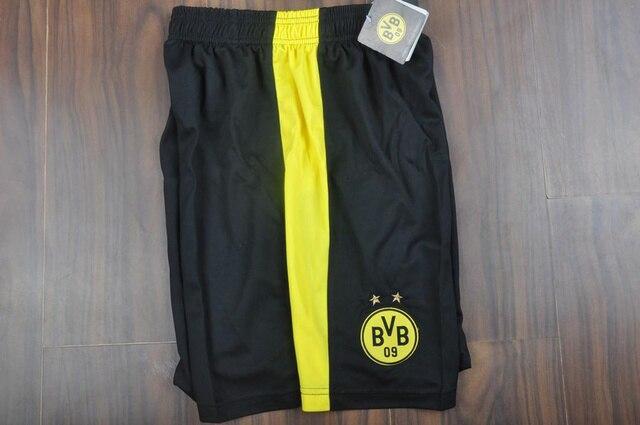 3db0bce7b8 Borussia Dortmund shorts Cheap 2013/2014 Borussia Dortmund black Soccer Shorts  Dortmund running football shorts