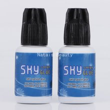 2pcs/lot S+ Eyelash Extension Glue Professional Use Only Fast Drying S Plus Type SKY False Eyelash Extension Glue 5ml