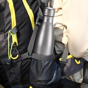 Image 5 - Lixada 500ml Titan Wasser Flasche Doppelwandige Vakuum Isolierte Sport Wasser Flasche Camping Wandern Radfahren Outdoot Geschirr