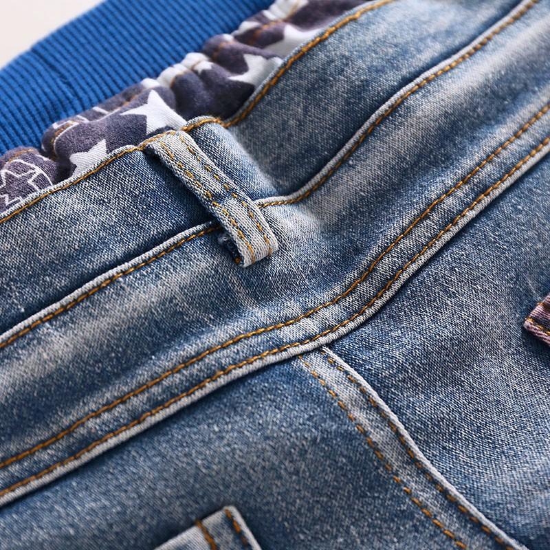 Kids Jeans Boys Girls Full Length Jeans Panty Panties Sring Autumn Cotton Fashion Casual Style Convenient Elastic Waist 6