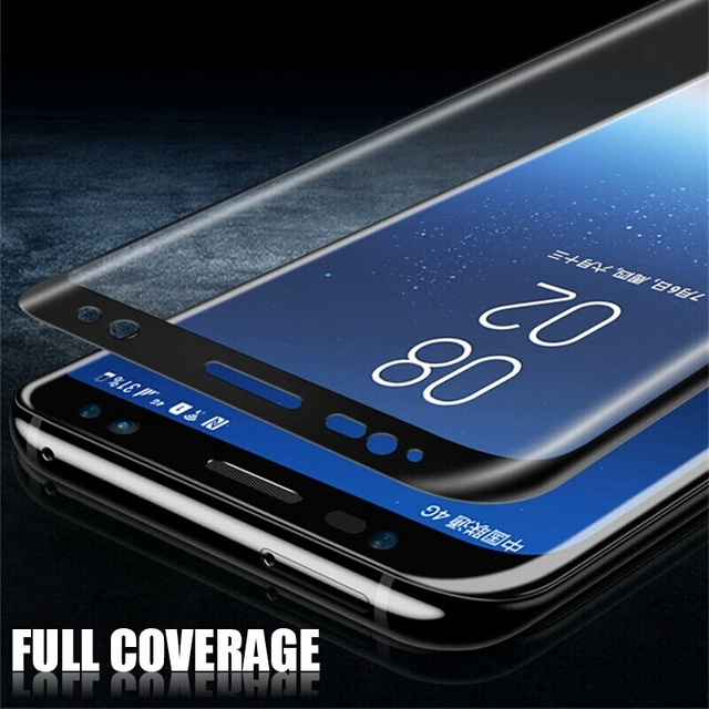 6D Full Curved Tempered Glass For Samsung Galaxy S9 S8 Plus Note 8 Screen Protector For Samsung A8 2018 S7 Edge Protective Film