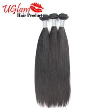 Free Shiping 7A Indian Virgin Hair 3PCS Straight Unprocessed Human Hair Straight Hair Natural Color Can be Restyled Ms lula hair