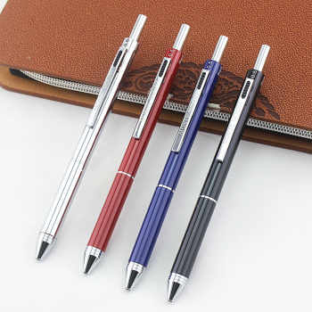 4 in 1 MultiColor Pen Creative Ballpoint Pen Colorful Retractable Ballpoint Pens Multifunction Pen For Marker Writing Stationery - DISCOUNT ITEM  10% OFF All Category