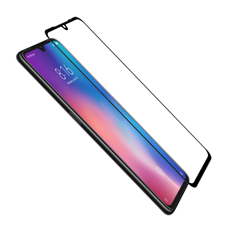 Image 2 - For Xiaomi Mi 9 Glass Nillkin CP+ 2.5D Screen Protector Full Glue Tempered Glass For Xiaomi Mi 9 SE Mi9 Lite 9T Pro-in Phone Screen Protectors from Cellphones & Telecommunications on