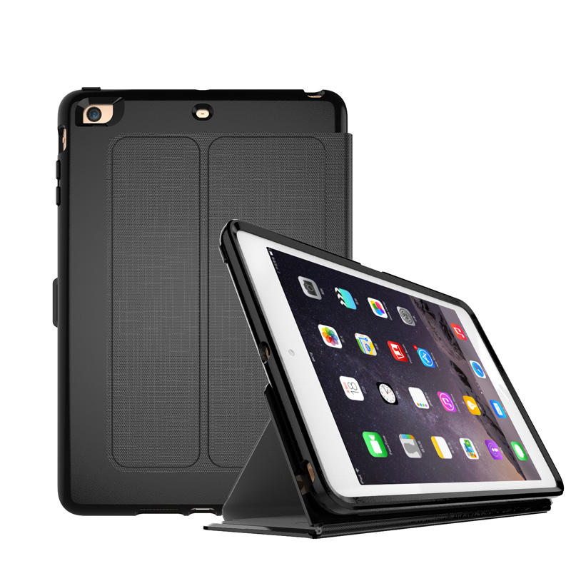 For Apple iPhone Mini4 Case Silicone and Grid Cloth Auto Sleep / Awake Drop Resistance Cover for iPad Mini 4 7.9inch Tablet Case for ipad mini4 cover high quality soft tpu rubber back case for ipad mini 4 silicone back cover semi transparent case shell skin