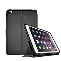 Para el iPhone de Apple Mini4 caso silicona y rejilla de tela auto sleep/Awake resistencia a la caída de la cubierta para el iPad Mini 4 caja de la tableta de 7.9 pulgadas