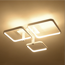 Square Ceiling Lights for living room Bedroom Dining room  fixture indoor home decorative LED Ceiling lamp acrylic lampshade