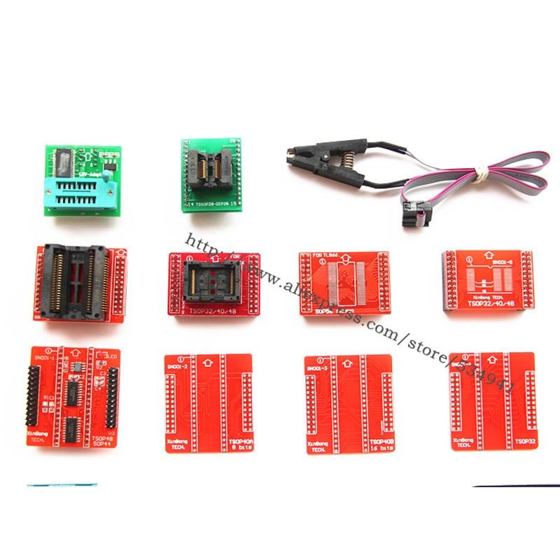XGecu V8 51 TL866II Plus programmer +24 adapter socket better than USB  EEPROM Universal minipro TL866CS TL866A nand programmer