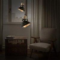 Nordic Loft Stil Retro Industriellen Beleuchtung Edison Pendelleuchte  Kreative Pendelleuchte Mit Glasschirm Hängenden Lampe Leuchte