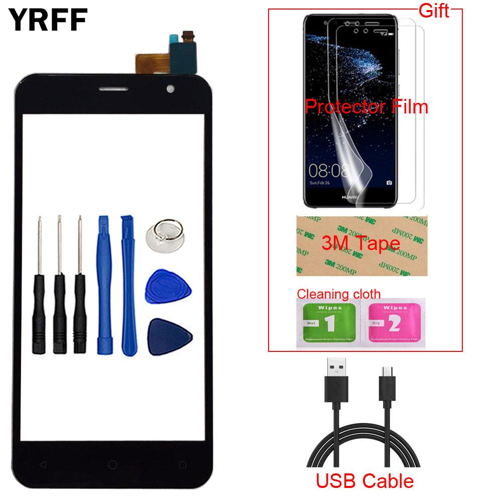 5.0'' Mobile Touch Screen For Prestigio Muze B3 PSP3512 DUO PSP 3512 Digitizer Panel Touch Front Glass Sensor Tools Gift