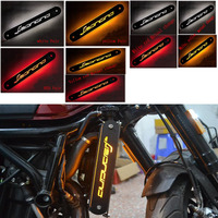 Motorcycle Radiator Side Guard Grill Grille Cover Protector Bulb Turn Signals Indicator flashin for Benelli Leoncino 500 BJ500