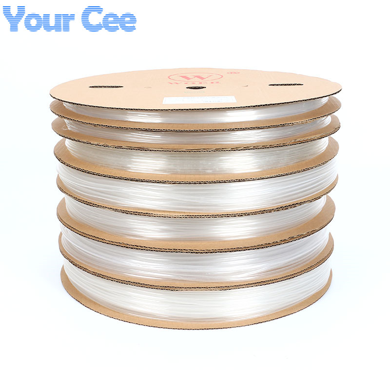 Image 2 - A Roll 100m Heatshrink Heat Shrink Tube Clear Transparent 5mm 20mm-in Insulation Materials & Elements from Electronic Components & Supplies