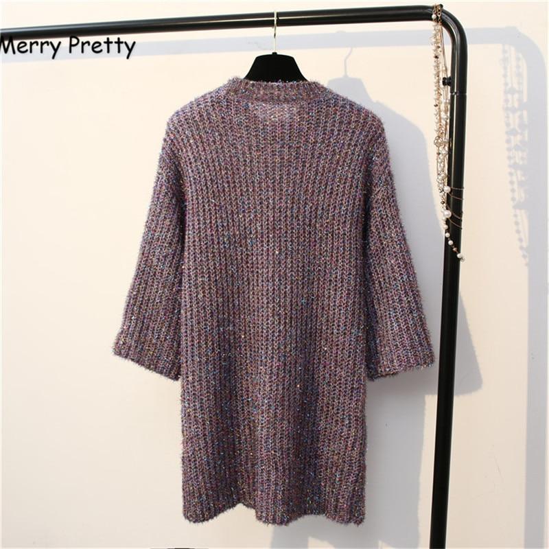Aliexpress.com : Buy Merry Pretty Autumn new women mix color long ...