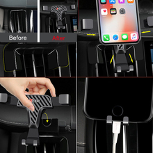Left Handle for Volvo XC60 2018 2019 Car Auto Dashboard Mount,Car Mount,Cell Phone Holder with Adjustable