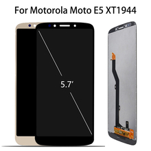 Original 5.7 Display For Motorola Moto E5 LCD Touch Screen Digitizer Assembly Replacement For MOTO E5 Display XT1944-2 XT1944-4 100% tested lcd screen for motorola moto e5 g6 play xt1922 xt1922 3 lcd display with touch screen assembly
