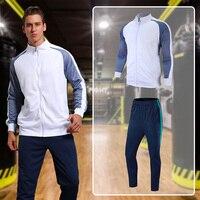 EU Men Sport Suit Quick Dry Man Jogging Tracksuits Mens Sport Suits Men Basketball Football Training Suit Men Gym Running Suit