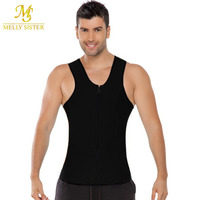 Plus Size Waist Training Corset For Male Sport Vest Top Neoprene Waist Trainer Waist Cincher Sauna