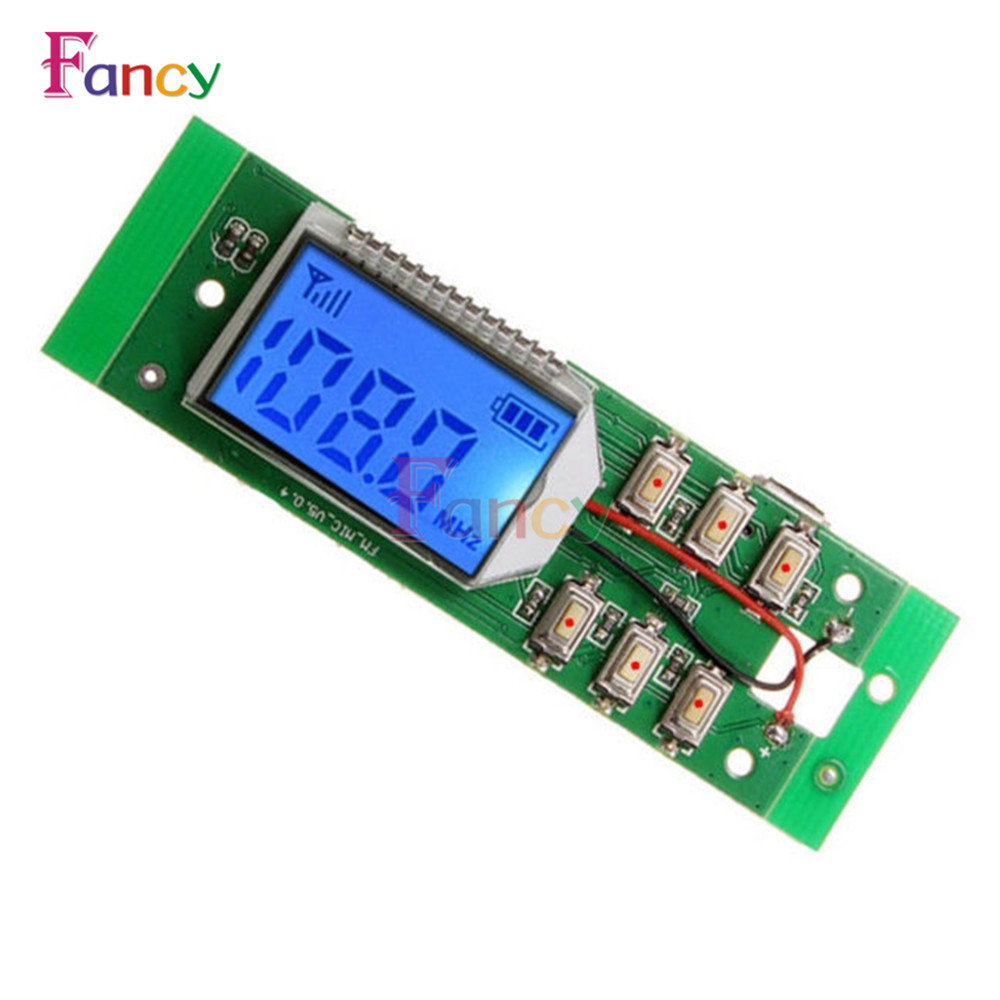 FM Transmitter Module Wireless Microphone Circuit Board 87.0MHz-108.0MHz Computer Audio Transmitting DC 3-5V