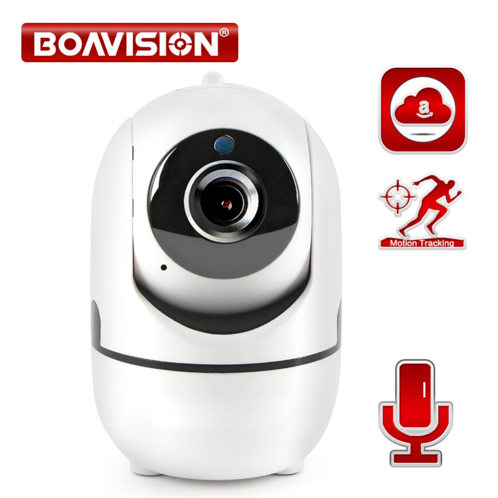 1.0mp 2mp Wireless Ip Kamera Wifi Auto Tracking Hd 1080 P Smart Kamera Zwei-wege Audio Cctv Überwachung Kamera Cloud-service
