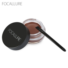 Focallure Eyebrow Pomade Gel Wateproof 5 Colors Durable Women Makeup Enhancer Cream Black Brown Eye Brow Dye Tint Cosmetics