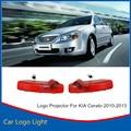 2x LEVOU Porta Do Carro Bem-vindo A Luz do Laser Porta Do Carro Sombra levou Logotipo Projetor Para KIA Cerato 2010-2013