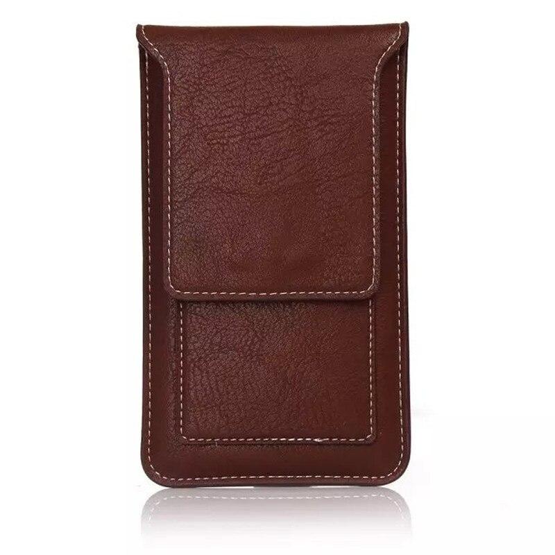 New Fashion Noble belt Slot Holster Cell <font><b>Phone</b></font> Bag Pouch Flip Leather Cover Skin <font><b>Case</b></font> For Huawei CUN-U29 <font><b>Y5</b></font> 2