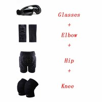 Elbow Knee Hip Pads Cycling Riding Support Bike Downhill Ski Glasses Polarized Motorcycle Guard Knee Brace Snowboard Protector
