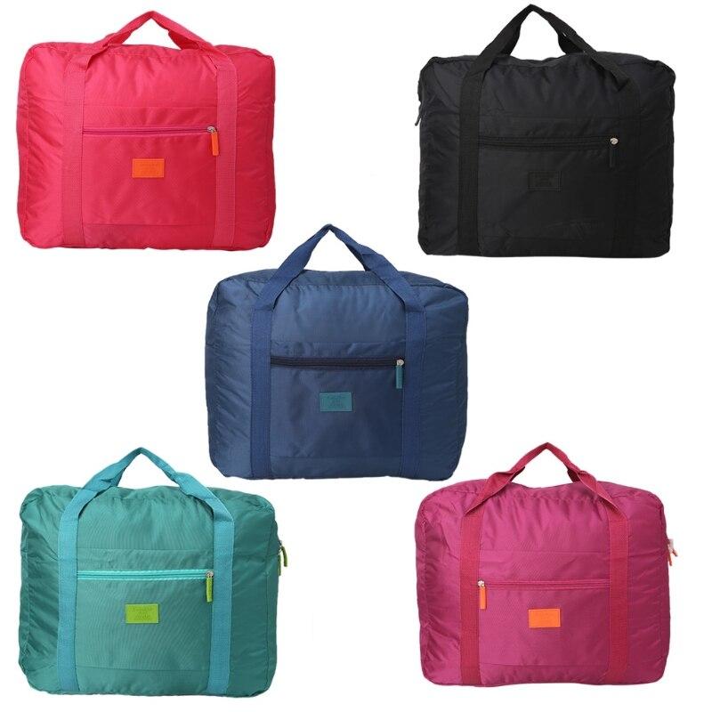 Новые путешествия большой Размеры складной Чемодан сумка для хранения одежды носить на с ...