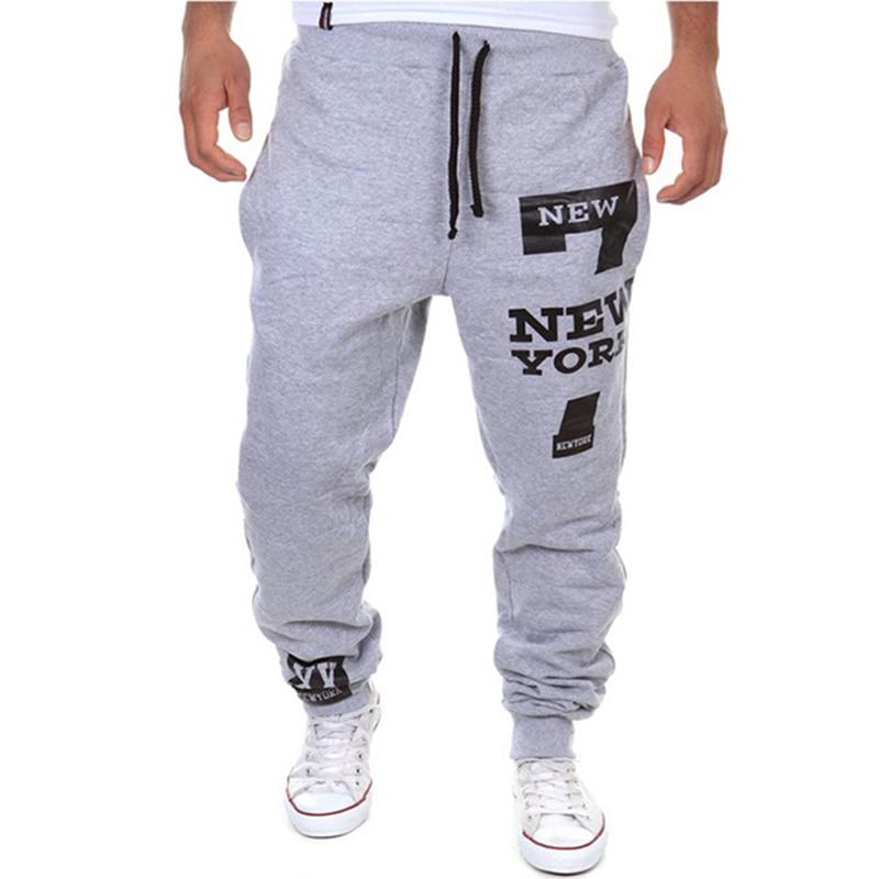 Boys Joggers New Fashion Casual Harem Pantalon Sport Homme Trousers Men  Tracksuit Bottoms Letter Training Jogging M XXL 13K03-in Harem Pants from  Men's ... 099010b72414