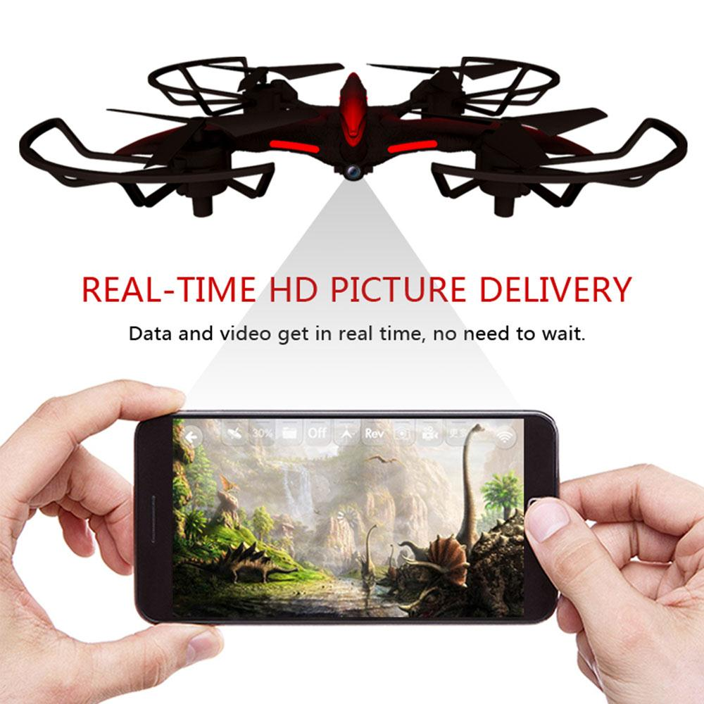 Mini Drone with Camera Quadcopter WIFI Real Transmission RC Helicopter Wearable Gesture Remote Control 720P Headless RC Drone jjr c jjrc h43wh h43 selfie elfie wifi fpv with hd camera altitude hold headless mode foldable arm rc quadcopter drone h37 mini