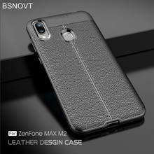 For Asus Zenfone Max M2 ZB633KL Case Cover Soft Silicon TPU Leather Shockproof Phone Case Asus Zenfone Max M2 ZB633KL Case X01AD luxury bling leather case for asus zenfone max m2 zb633kl wallet case for asus zenfone max pro m2 zb631kl flip leather case