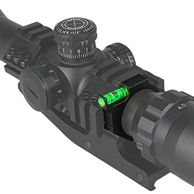 Outdoor Hunting Bubble Level Rifle Scope Fit for 1 inch(25.4mm) Riflescope Tube for Shooting and Hunting Anti-cant Used Newest ...
